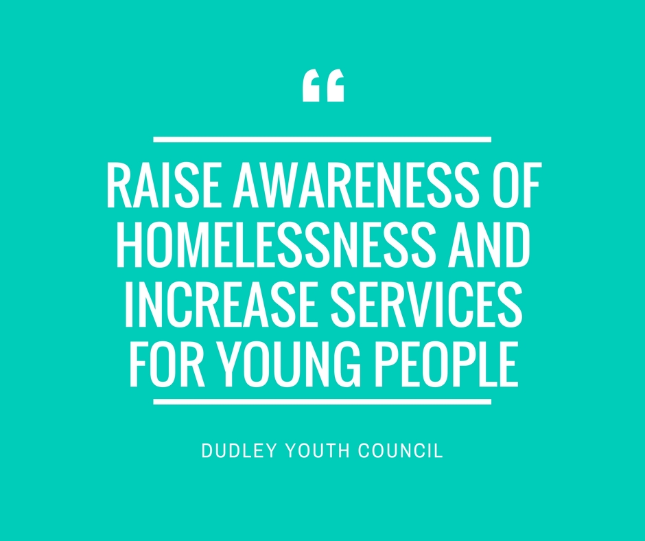 dudley homeless and young people